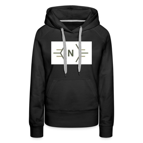 N exclusive logo - Vrouwen Premium hoodie