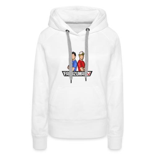 FaNaZuMa Tv - Sweat-shirt à capuche Premium pour femmes