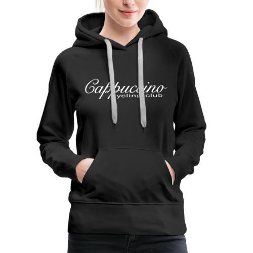 Cappuccino Core Range with White Logo - Women's Premium Hoodie