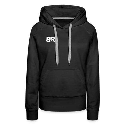 BR LOgo voor op truien png - Vrouwen Premium hoodie