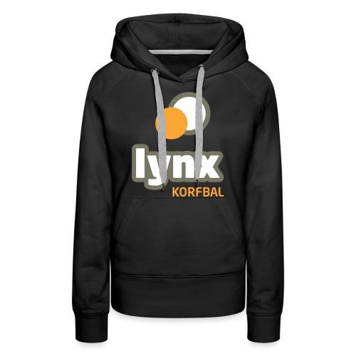 lynx logoPMS - Vrouwen Premium hoodie