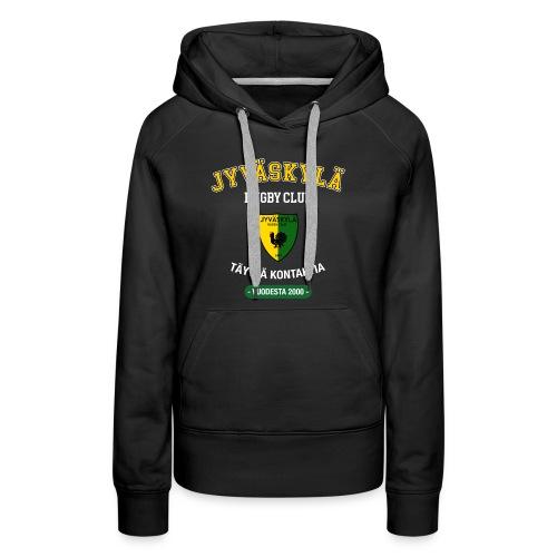 JRC Hoodie Black Logo - Naisten premium-huppari