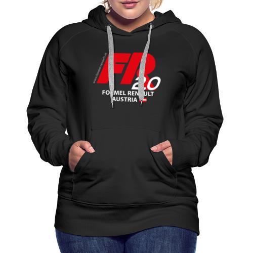 FR2.0-Logo - weiße Schrift - Frauen Premium Hoodie