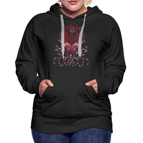 Octopus / Couleur - Sweat-shirt à capuche Premium pour femmes