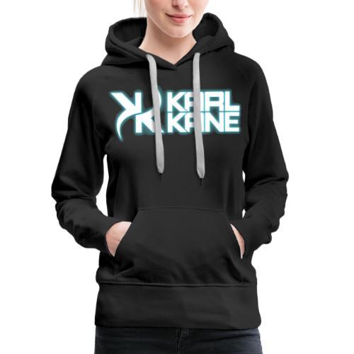 KARL KANE - Neon Blue - Frauen Premium Hoodie