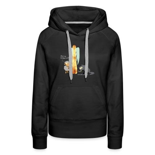 T-shirt schapen - Vrouwen Premium hoodie