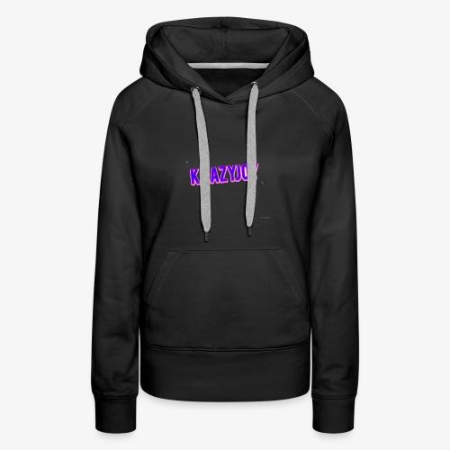 KrazyJoy - Women's Premium Hoodie