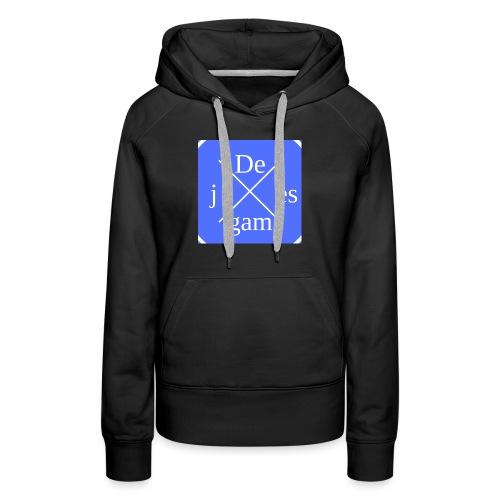 de j games kleren - Vrouwen Premium hoodie