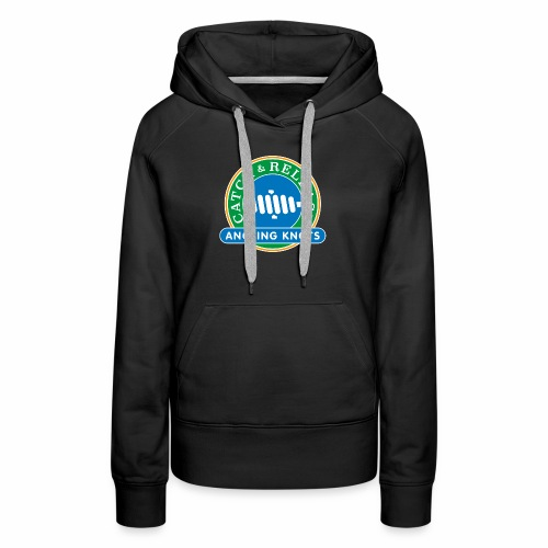 Angling Knots Catch and Release - Vrouwen Premium hoodie