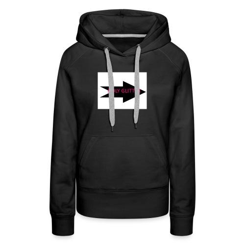 HOLLY GLITTER - Vrouwen Premium hoodie