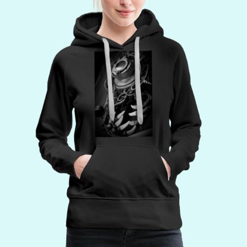 Steampunk - Sweat-shirt à capuche Premium pour femmes