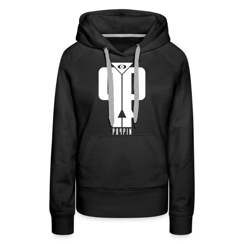POPPIN logo - Women's Premium Hoodie