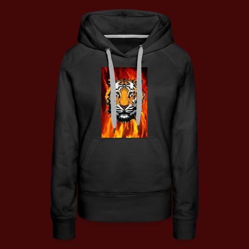 Fire Tiger - Women's Premium Hoodie