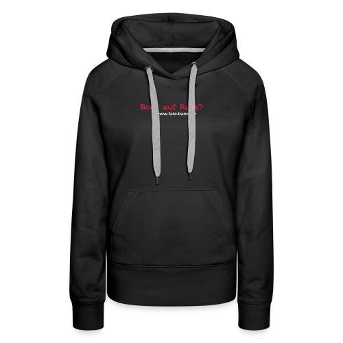 fate logo spreadshirt 4 - Frauen Premium Hoodie