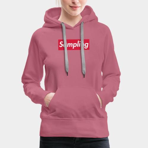Sampling - Frauen Premium Hoodie