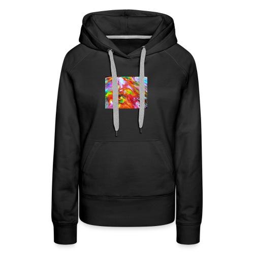 abstract 1 - Women's Premium Hoodie