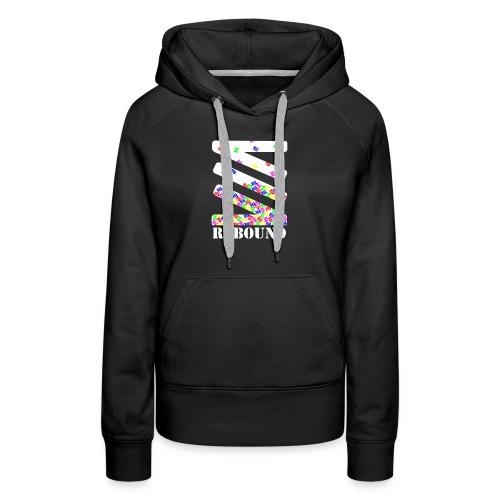 Falling logo - Women's Premium Hoodie