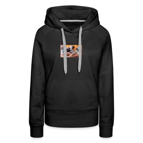 love pug shirt - Women's Premium Hoodie