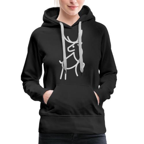 Renne - Sweat-shirt à capuche Premium pour femmes
