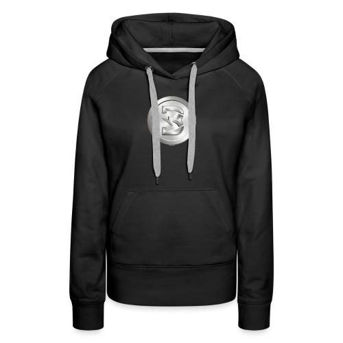 Burst Silver - Vrouwen Premium hoodie