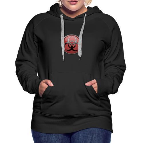 DANGER BIOHAZARD - Frauen Premium Hoodie
