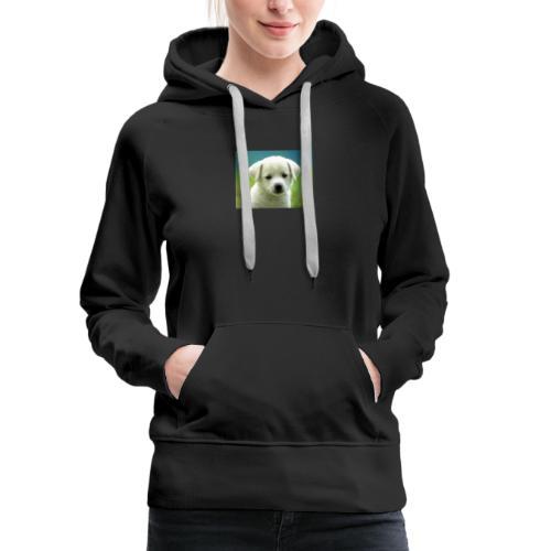dog cute - Women's Premium Hoodie