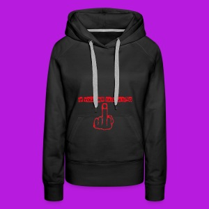 tailgating_red - Women's Premium Hoodie