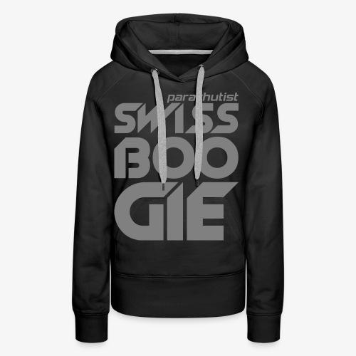 Swissboogie Fallschirmspringer - Frauen Premium Hoodie