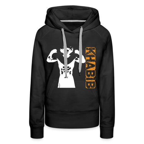 Khabib tshirt - Sweat-shirt à capuche Premium pour femmes