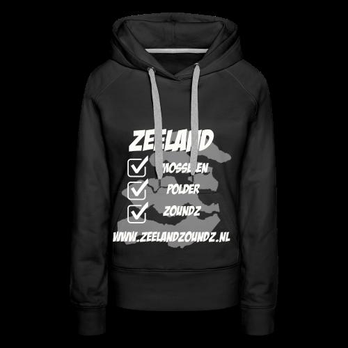 Mosselen - Polder - ZoundZ - Vrouwen Premium hoodie