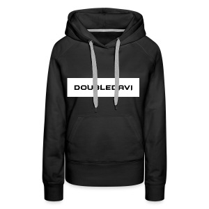 Black and White. - Frauen Premium Hoodie