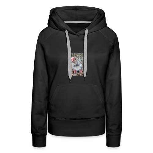 ecureuil deguise - Sweat-shirt à capuche Premium pour femmes