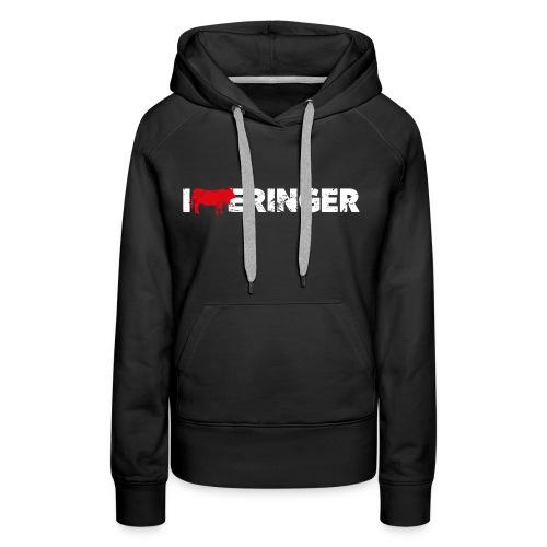 I LOVE ERINGER - Frauen Premium Hoodie