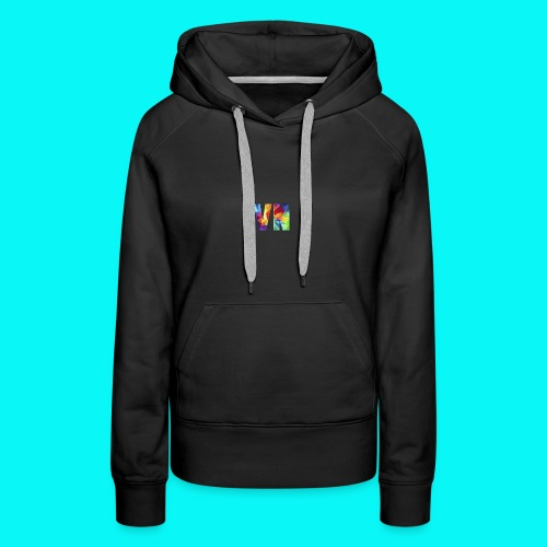 Velocity Networks Coloured Logo! - Women's Premium Hoodie