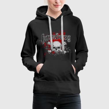 Jolly Roger Hambourg - Sweat-shirt à capuche Premium pour femmes