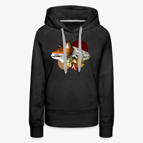 Autumn Foxey - Felpa con cappuccio premium da donna