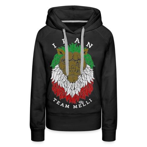 TEAM MELLI IRAN W - Frauen Premium Hoodie