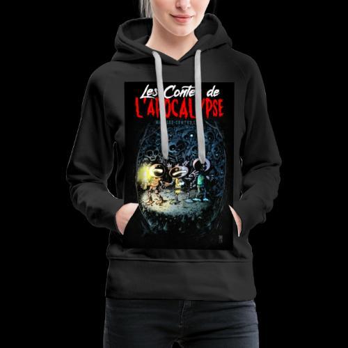 LCDLA ep 00 - Sweat-shirt à capuche Premium pour femmes