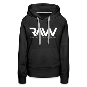 Raw - Sweat-shirt officiel - Femme - Sweat-shirt à capuche Premium pour femmes