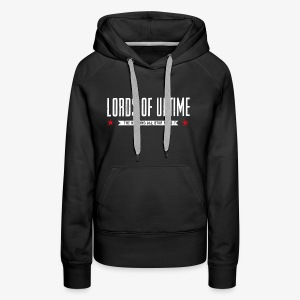 Lords of Uptime typo - Frauen Premium Hoodie