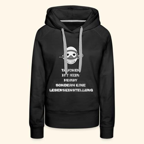 TAUCHEN T-Shirt Pullover Hoodie - Frauen Premium Hoodie