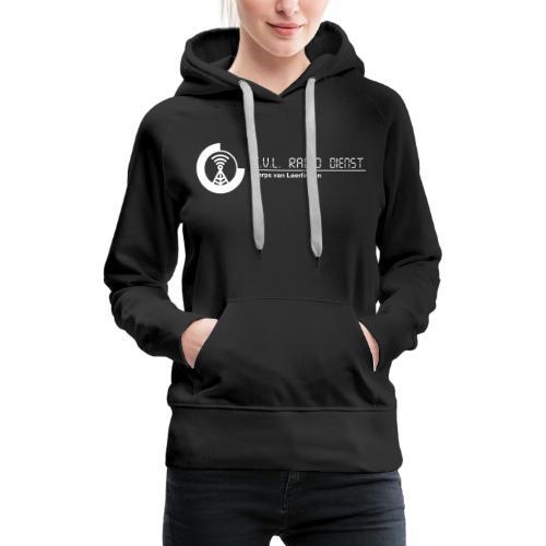 CRD Logo met Tekst - Vrouwen Premium hoodie
