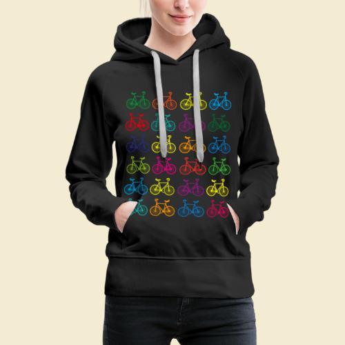 Kunstrad | Artistic Cycling Color - Frauen Premium Hoodie