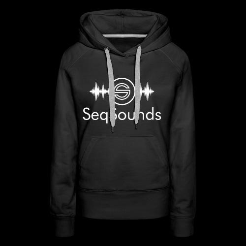 SeqSounds Logo mit Schrift - Frauen Premium Hoodie