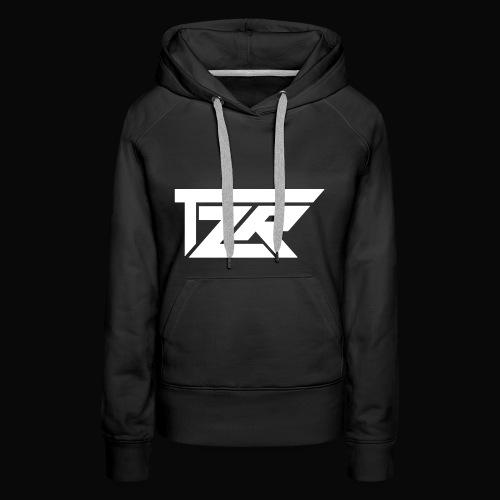 TZR White Logo - Women's Premium Hoodie