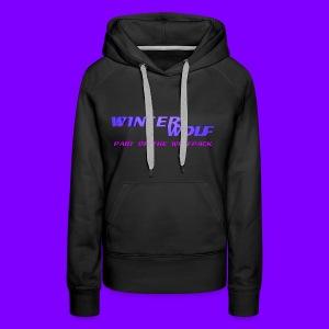 WINTERWOLF LOGO Part of The Wolfpack T-shirt - Vrouwen Premium hoodie