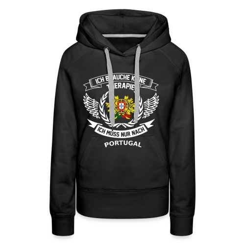 Portugal T-Shirt Urlaub - Frauen Premium Hoodie