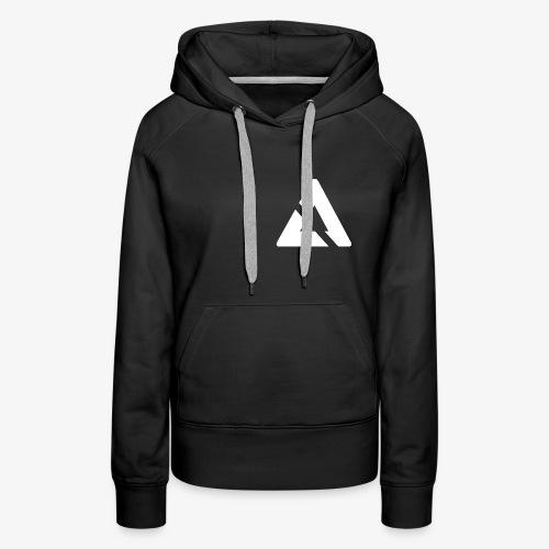 Witte Driehoek Logo - Vrouwen Premium hoodie