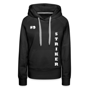 THE STRIKER #9 - Women's Premium Hoodie