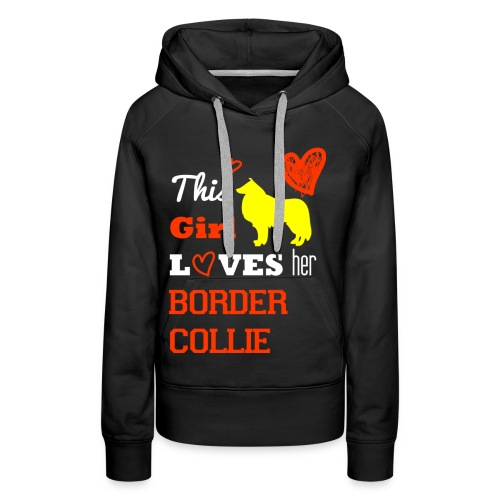 Border Collier - Frauen Premium Hoodie